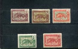 Congo Français 1900-04 Yt 27-31 * - Nuevos