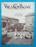 """VIE à La CAMPAGNE N° 505 Novembre 1952 La """"Prairie"""" RENAULT Voiture à Tout Faire De L'exploitation Rurale - Giardinaggio"""