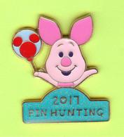 Pin's BD Disney Pin Hunting Porcinet (Winnie L'Ourson) - 6X03 - Disney