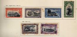 Congo Belge (1920-30) -  Poste Aerienne - Avions Paysages  -   Neufs* - MH - Luftpost: Ungebraucht