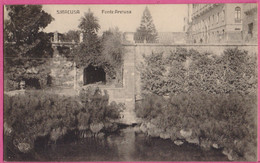 PC13036 Fonte Aretusa (Fountain Of Arethusa), A Natural Fountain In Syracusa (Syracuse), Sicily, Italy - Siracusa
