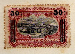 Congo Belge (1923) -  Surcharge Locale 0,25  Renversee-   Neufs* - MH - 1923-44: Ungebraucht