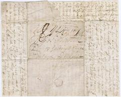 Ireland Transatlantic Canada 1835 Letter Belleville Upper Canada To Dublin 'Paid 1N7' LIVERPOOL SHIP LETTER - Vorphilatelie