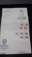 Portugal - 4 Cartas Circuladas (Instrumentos Trabalho) - Covers & Documents