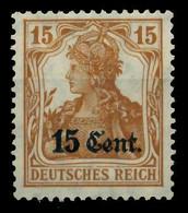 BES 1WK ETAPPE WEST Nr 5 Ungebraucht X779422 - Occupazione 1914 – 18