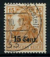BES 1WK ETAPPE WEST Nr 5 Gestempelt X77969E - Occupazione 1914 – 18