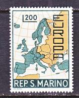 SAN  MARINO  664    **    EUROPA - 1967