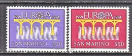 SAN  MARINO  1065-6   **    EUROPA - 1984