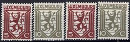 Luxembourg, Luxemburg 1930 Lion Héraldique 2 Séries Neuf MNH** - Nuevos