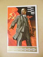 P701 USSR 1975. Lenin. October Revolution. Author V. Ivanov - Andere