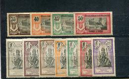 Inde 1914 Yt 25-31 35-38 * - Nuevos