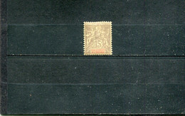 Inde 1900-07 Yt 15 * - Nuevos