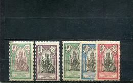 Inde 1922 Yt 49-53 * - Nuevos