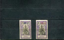 Inde 1922 Yt 57-58 * - Nuevos
