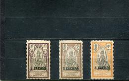 Inde 1923-26 Yt 60-62 * - Nuevos