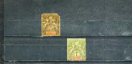 Inde 1892 Yt 12-13 * - Nuevos
