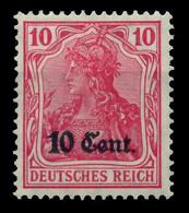 BES 1WK ETAPPE WEST Nr 4b Ungebraucht X779506 - Occupazione 1914 – 18