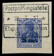 BES 1WK ETAPPE WEST Nr 6aII BRIEF SENKR PAAR X77969A - Occupazione 1914 – 18