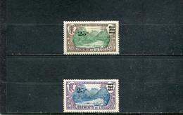Océanie 1924-27 Yt 61-62 * - Nuevos