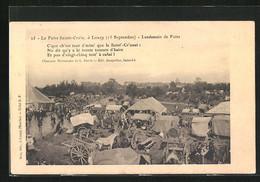 CPA Lessay, La Foire Sainte-Croix, Lendemain De Foire - Ohne Zuordnung