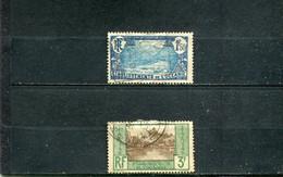 Océanie 1927-30 Yt 75-76 - Usados
