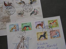 DDR 2  ältere Briefe   Vögel Und Hunde - FDC: Buste