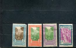 Océanie 1929 Yt 10-11 14-15 * - Impuestos