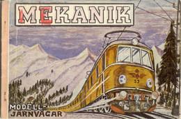 Catalogue MEKANIK 1950 Modell Järnvägar & MECANIC Metallbygglådor Liliput - En  Suédois - Andere