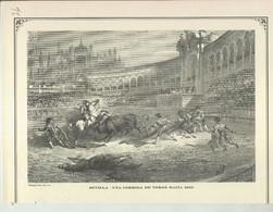 Lamina 36: Sevilla, Una Corrida De Toros Hacia 1850 - Zonder Classificatie