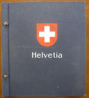 Switzerland/Suisse/Svizzera 1881-1989 On Davo Album Pages - Verzamelingen (in Albums)