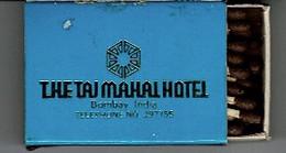 BOITE ALLUMETTES: The Taj Mahal Hotel - (inde) - Matchboxes