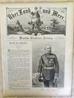 Über Land Und Meer 1893 Band 70 Nr 52. Kaizer Metz. Stuttgart - Non Classificati