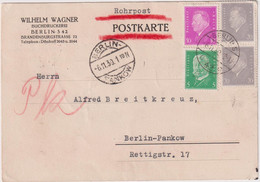 Germany. Postcard To Berlin 1930 - Pankow
