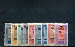 Soudan 1922-27 Yt 42 44-50 52 * - Nuevos