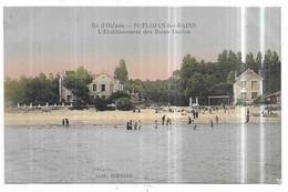 Saint Trojan L' Etablissement Des Bains Duclos CPA En Couleur - Ile D'Oléron