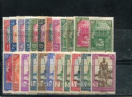 Soudan 1931-38 Yt 60-73 77 80-88 - Nuevos