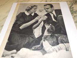 PHOTO COUPLE PRINCIER DE MONACO 1956 - Unclassified