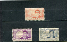Soudan 1939 Yt 100-102 * - Nuevos