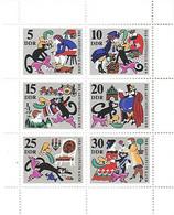 Allemagne Orientale Démocratique - DDR - Année 1968 - Yvert 1122/1127** Chat Botté - - Unused Stamps
