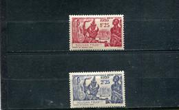 Soudan 1939 Yt 103-104 * - Nuevos