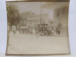 Bas Rhin. Marlenheim. Automobile De Dietrich. 1906. 9x8.5 Cm. - Places