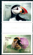 Europa 2021 Norvège Noreg Norway -  Endangered Species, Espèces En Danger, Gefährdete Arten (Macareux Moine, Bourdon) ** - Altri