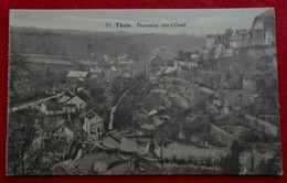 CPA Thuin 1930 Panorama Vers L'ouest / Fêtes Du Centenaire - Grande Marche Militaire - Thuin