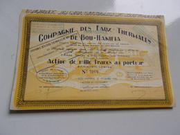 EAUX THERMALES DE BOU HANIFIA (1940) Algérie - Unclassified