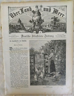 Über Land Und Meer 1893 Band 70 Nr 51. Marie Antoinette. Skutari Konstantinopel Constantinople - Non Classificati