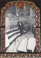 Croatia Homeland Liberation War 1991/92 Postcard - Bombed Zadar Church Organ Orgue - Kroatië