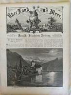 Über Land Und Meer 1893 Band 70 Nr 47. Skutari Konstantinopel Constantinople Genfersee Lac Léman - Non Classificati
