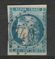"""TRES RARE En FONCE N°45Ac """"impression Fine"""" En NUANCE EXCEPTIONNELLE Pour Un 45A BE Cote 450€ - 1870 Bordeaux Printing"""