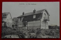 CPA  Coxyde 1927 - La Villa Casablanca - Koksijde