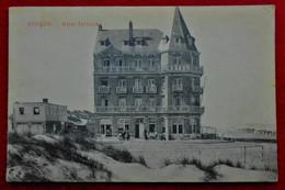 CPA  Coxyde 1919 - Hôtel Terlinck - Koksijde